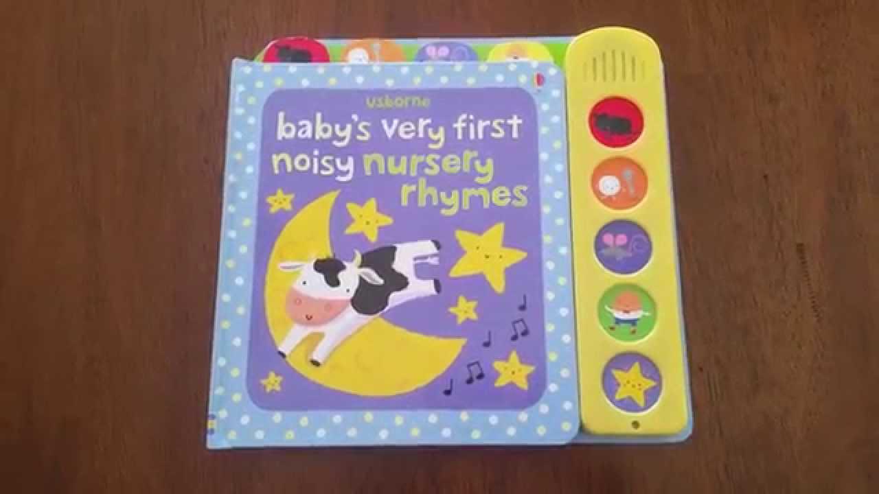Babies nursery rhymes book for