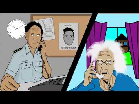 lustige Gewitter Oma Animation