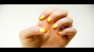 Candy Corn Nails Thumbnail