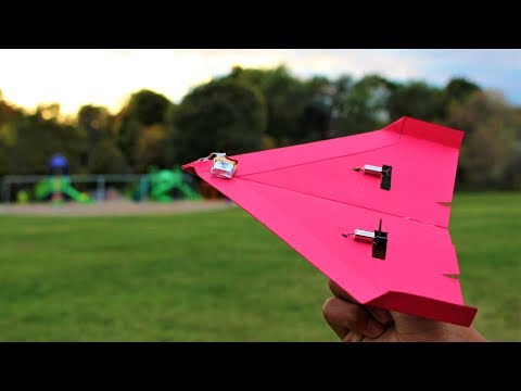 How to Make a Simple Motorized Paper Plane