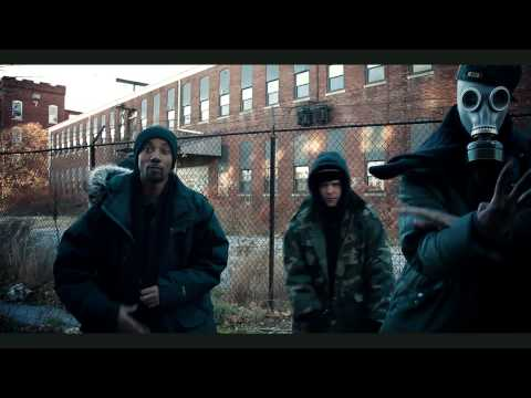 "Bombdrop Feat. Ruste Juxx, Milez Grimez, Rock (Of Heltah Skeltah) ""Raw Deal"" (HD)"