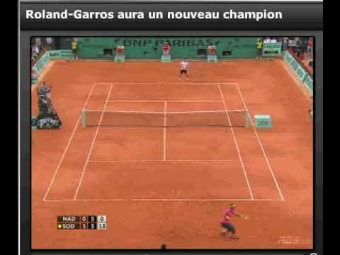 Nadal VS Soderling 31/05/09 (HQ) Resume of The Game
