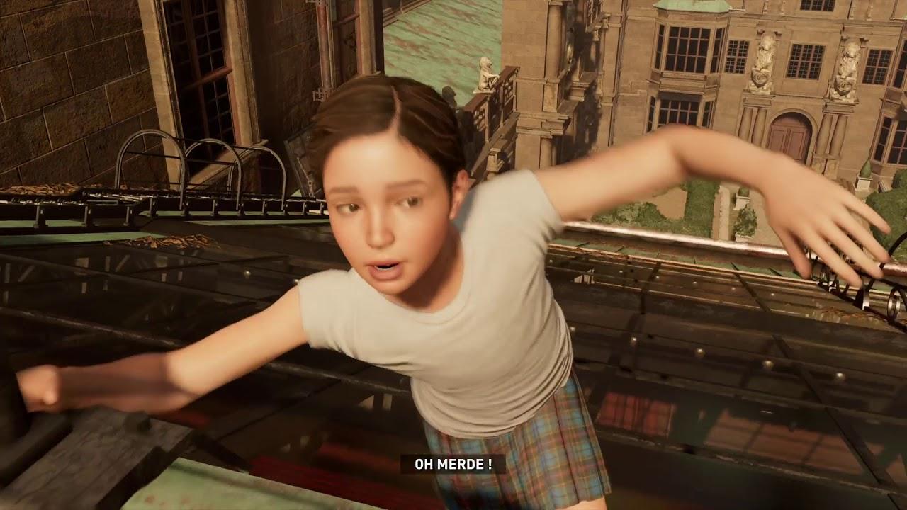 Ready to jump Lara Croft - Shadow of the Tomb Raider