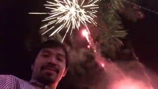 Manny Pacquiao new year 2016