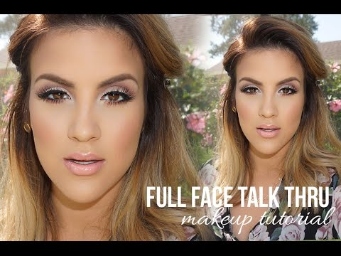 Full Face Talk Thru Makeup Tutorial