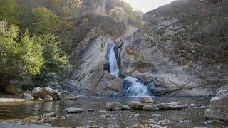 Дагестан Дербент Водопад Хучнинский Табасаранский Район Кристально Чистая Вода Красивое Озеро