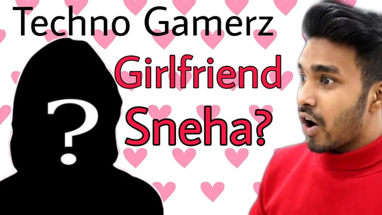 Techno Gamerz Girlfriend revealed 😍😍😍❤️❤️