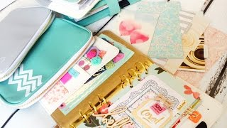 Color Crush Unboxing & my Websters Pages white planner set up!  ChristyTomlinson theplannersociety
