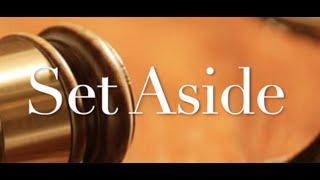 The Behan Law Group, P.L.L.C. Video - Set Aside