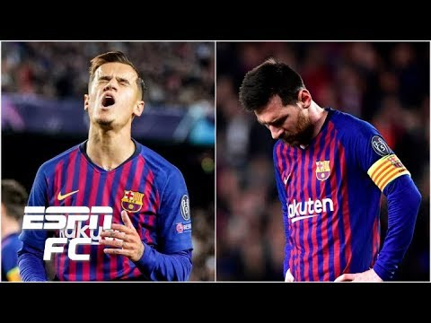 Why does Coutinho look so 'average' next to Messi and Suarez?   Champions League
