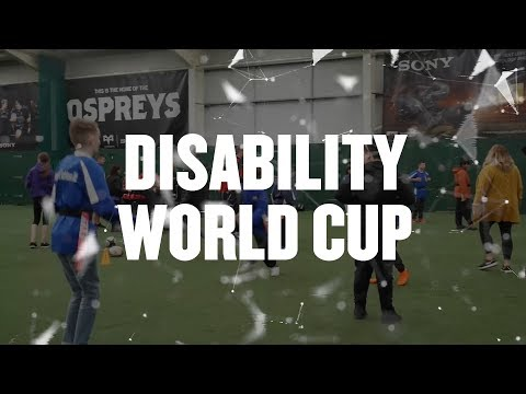 Ospreys In The Community: Disability World Cup