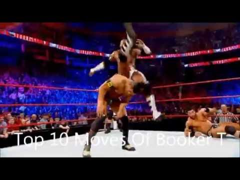 Top 10 Moves Of Booker T