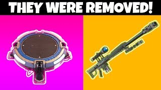 9 Things REMOVED From Fortnite CHAPTER 2!