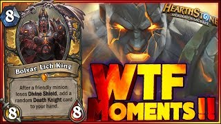 Hearthstone - RAGE WTF Moments - Daily Funny Rng Moments