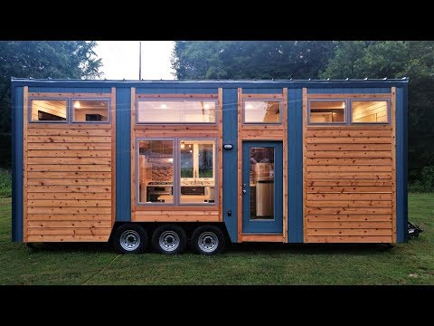 Tour The Beautiful Blue Heron Tiny House