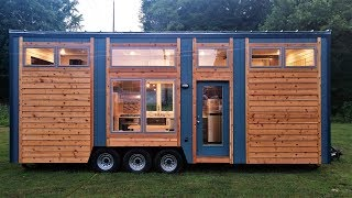 Tour The Beautiful Blue Heron Tiny House