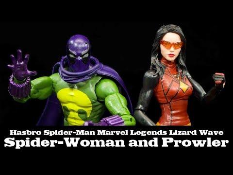 Divers Hasbro Marvel legends Deadpool Lasher Spider-Man Punisher Prowler plus!