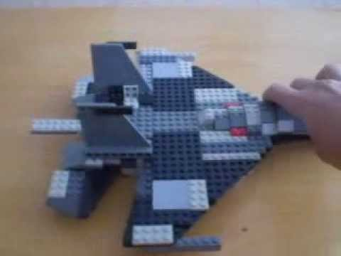 Lego Creation | Lego Fighter Jet SU-27 - YouTube