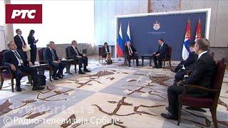 Sastanak dvojice predsednika u užem formatu