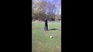 Christian Johnson 12year old golfer