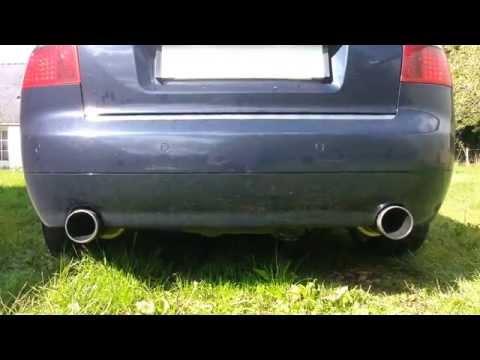 A4 2 5 TDI sound exhaust