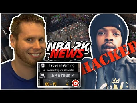 HACKERS ARE IN NBA 2K19! TROYDAN AND POORBOYSINS ACCOUNTS ARE GONE! 2K NEWS!