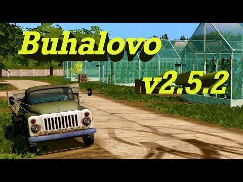 18+●Карта Buhalovo V2.5.2●Farming Simulator 17●Весна время полевых работ.