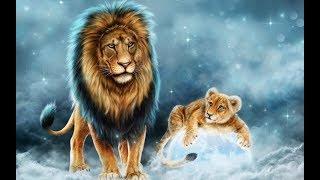 Басня Крылова - Воспитание Льва - Аудиосказка в Картиинках -  Школьная программа 1й класс