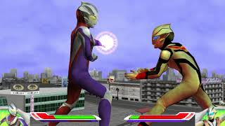 ufe 0 mod ultraman tiga HD vs evil tiga HD