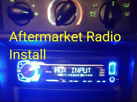 How To Install A Aftermarket Radio!! (02 Ford Mustang) Mach Audio System Wiring Diagram on