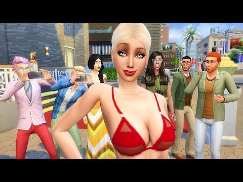 Becoming a CELEBRITY! (The Sims 4 Get Famous) thumbnail