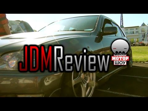 🔰 JDM Review | Байкал Мотор Шоу 2016 | Toyota Altezza Turbo V8