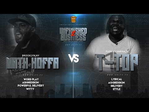 MATH HOFFA VS T-TOP SMACK/ URL RAP BATTLE | URLTV