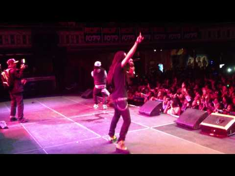 Jacquees & Issa Live at Hot 107.9 Mindless Behavior Concert