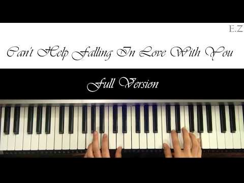 Can't Help Falling In Love With You - Piano Tutorial (Beginner)