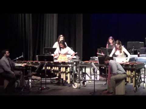 2017 Spring Concert Percussion Ensemble
