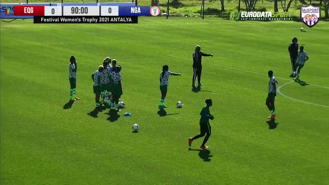 Download 🔚 FULL MATCH : Nigeria 🇳🇬 9 x 0 Equatorial Guinea 🇬🇶  | Festival Women's Trophy 2021🏆