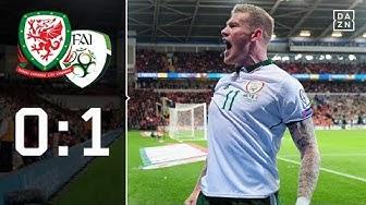Ohne Gareth Bale: Wales scheitert in der Quali: Wales - Irland 0:1 | Highlights | WM-Quali | DAZN
