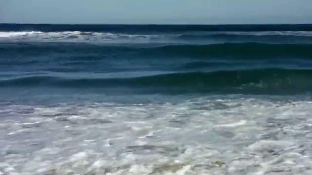 Ocean Waves At Hampton Beach