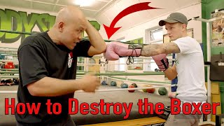 How to destroy the boxer follow up - Wing Chun Street Fight