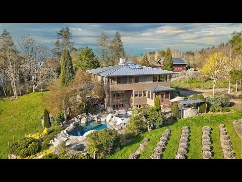 Vashon Island Waterfront Estate Seattle real estate Video