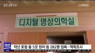 유치원 외래강사 결핵..어린이 등 282명 역학조사/ …