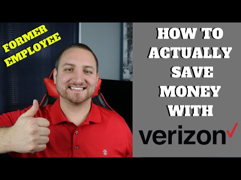 How To Save Money On Your Verizon Wireless Bill! From A Former Employee! (Lowering Your Mobile Bill)