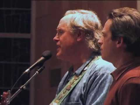 "Tom Chapin and Tim Breese sing Harry Chapin's Song ""Mr. Tanner"""
