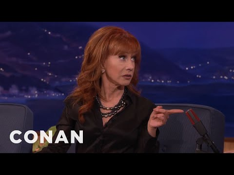 Kathy Griffin And Miley Cyrus Are Cool Now  - CONAN on TBS