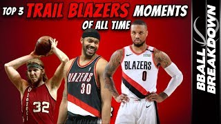 The TOP 3 Trail Blazers Moments Of All Time