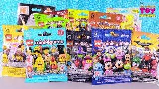Lego & Mega Bloks Construx Palooza Disney Batman Blind Bag Toy Review   PSToyReviews
