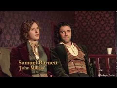 Aidan Turner in Desperate Romantics Featurette