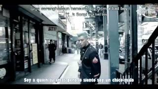 Bad Boy - BigBang    [Sub español + Romanización Hangul + Karaoke]