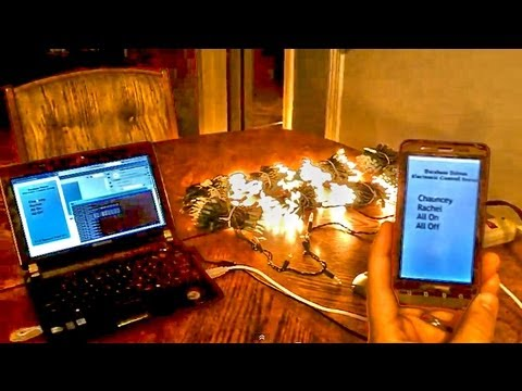 Diy home automation system demonstration using a phidget Diy home automation